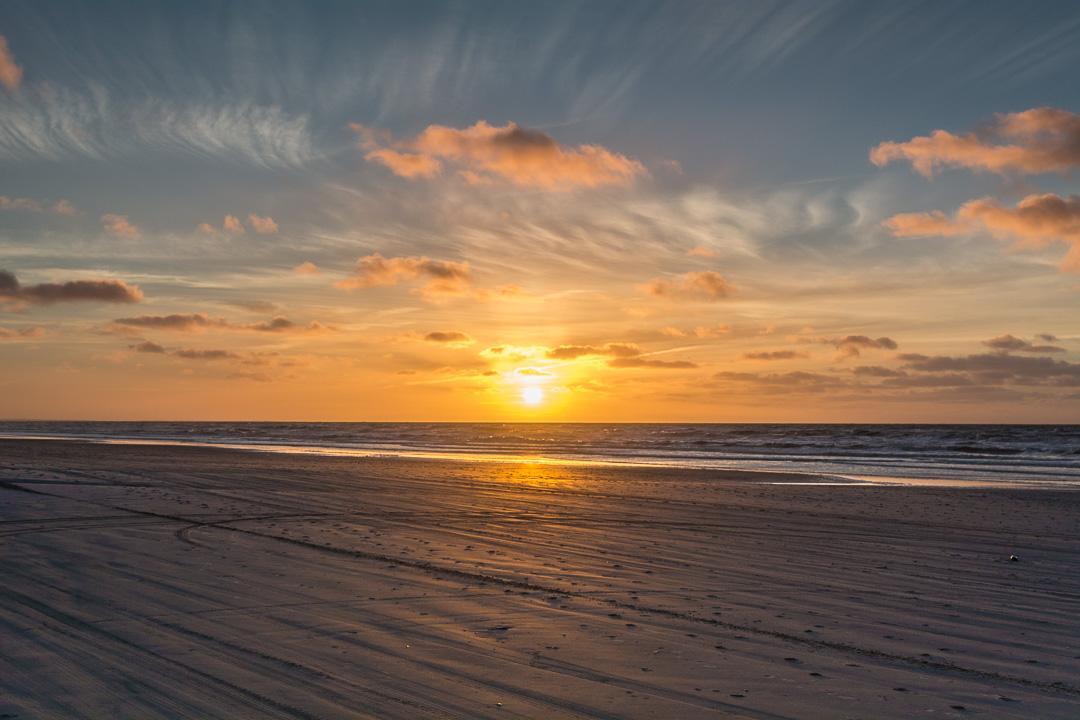 Sonnenuntergang in Lökken
