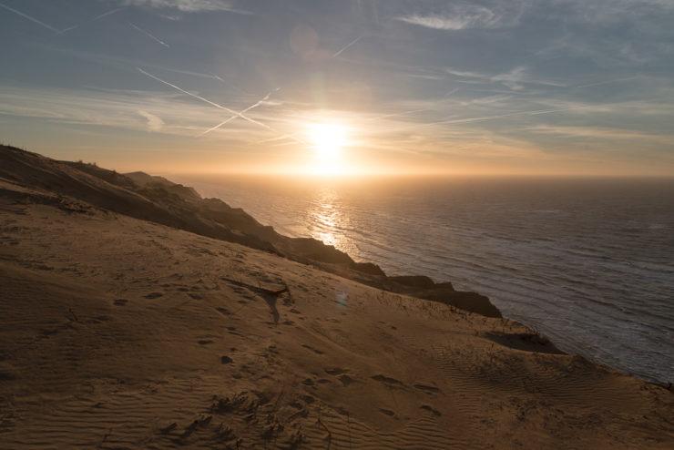 Sonnenuntergang am Rubjerg Knude