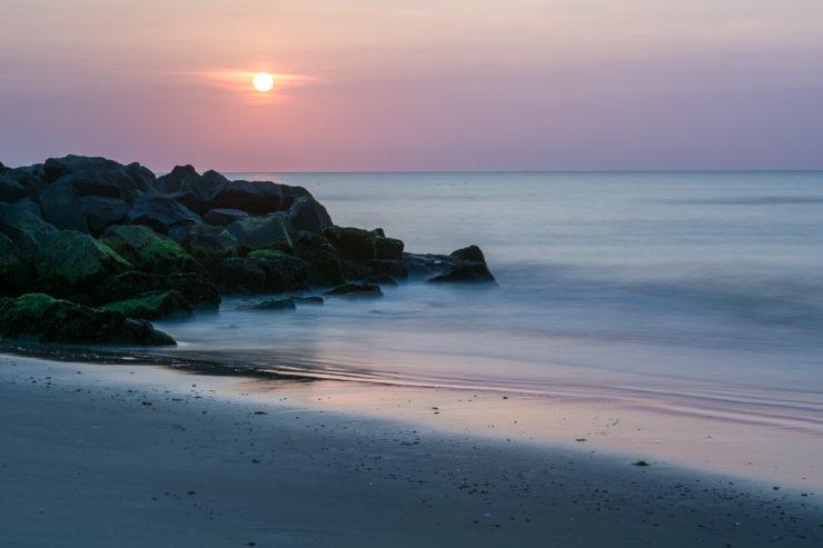 Lønstrup Sonnenuntergang