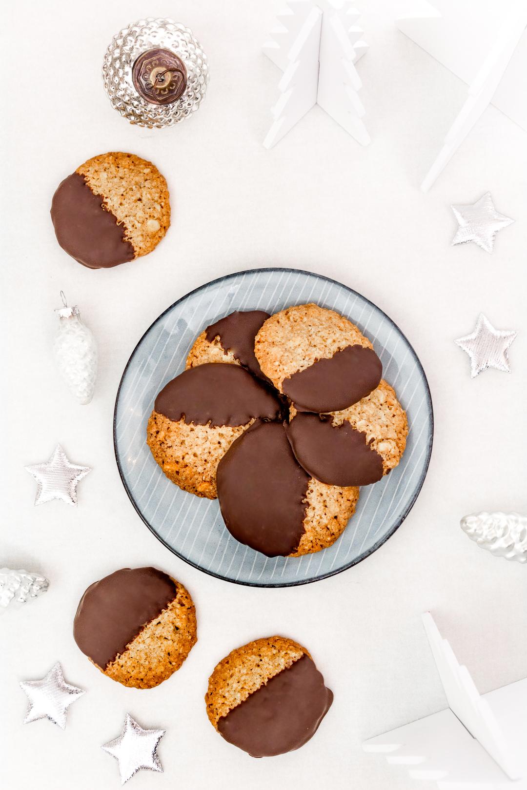 Rezept Haferkekse mit Schokolade