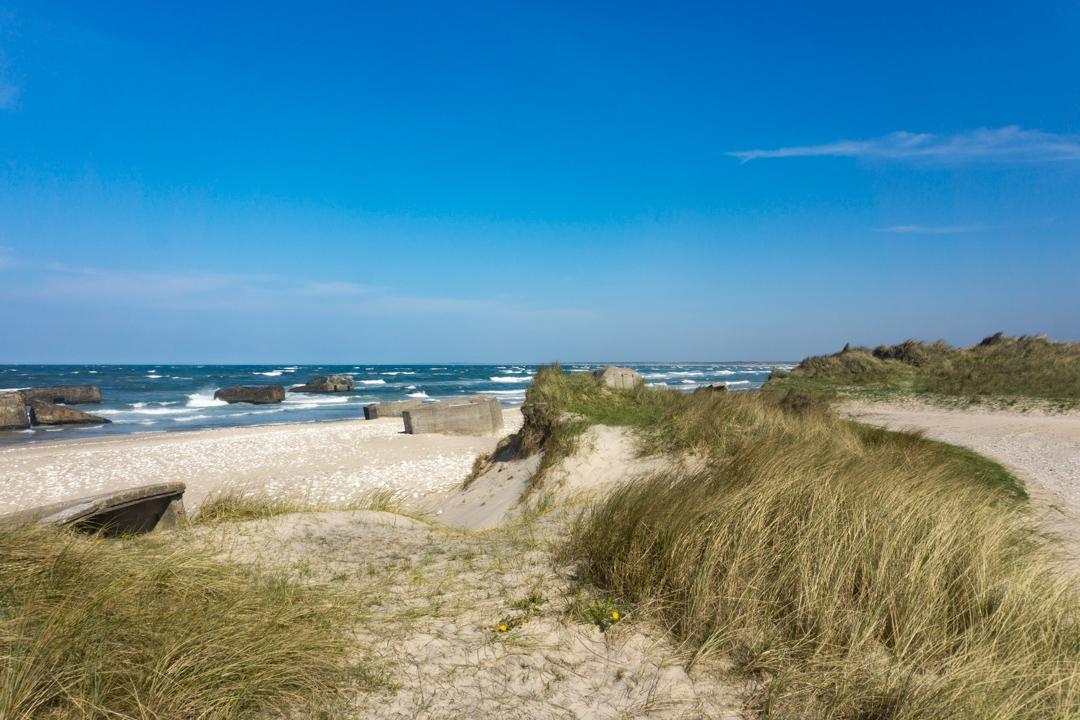 Echt schön am Vigsø Strand