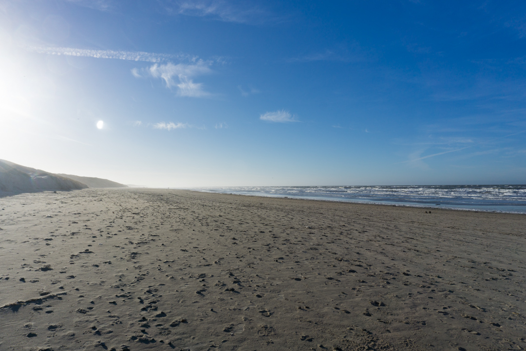 Løkken Strand im Winter
