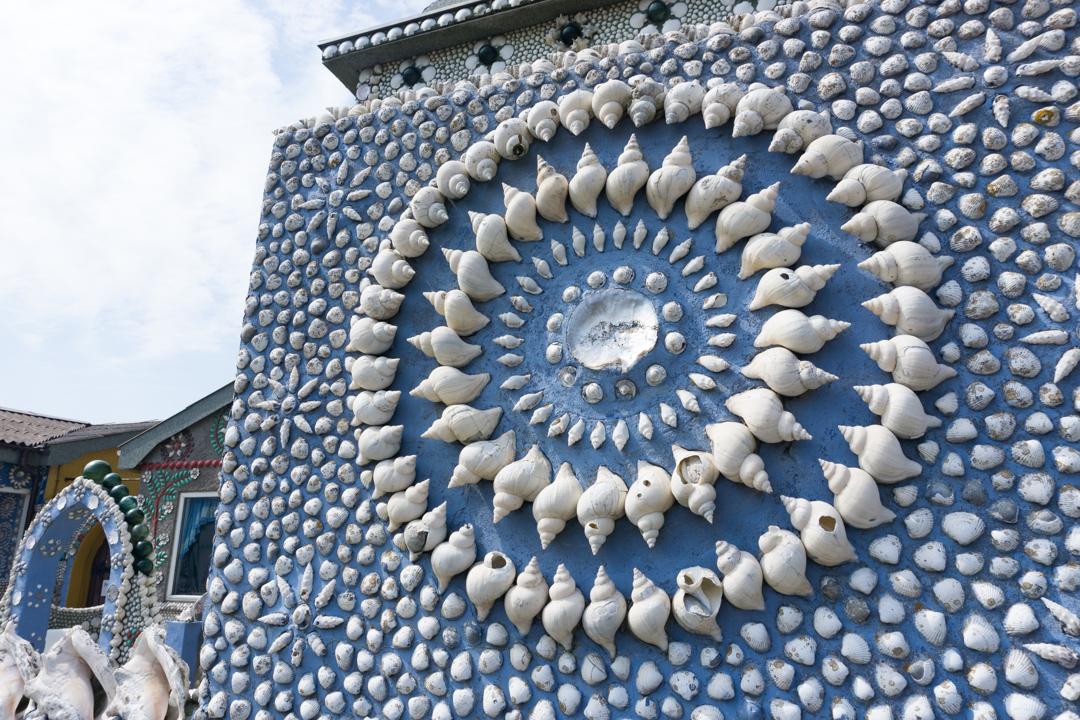 Thyborøn Sneglehuset Detailansicht