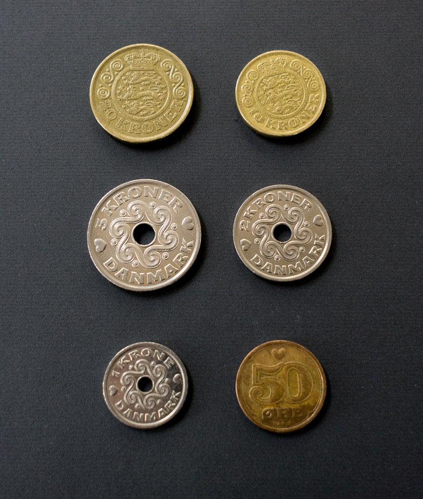 1 Dänische Kronen In Euro