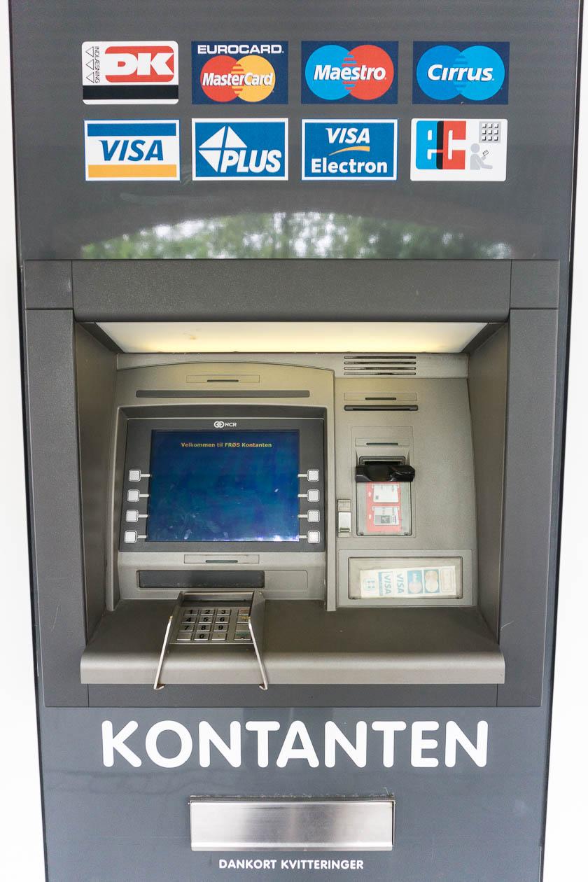 Geldautomat Dänemark