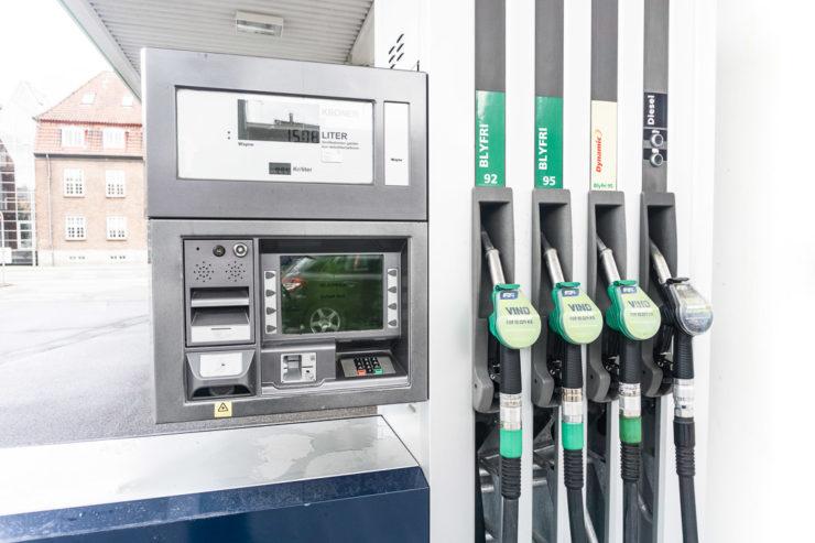 Tankautomat Dänemark