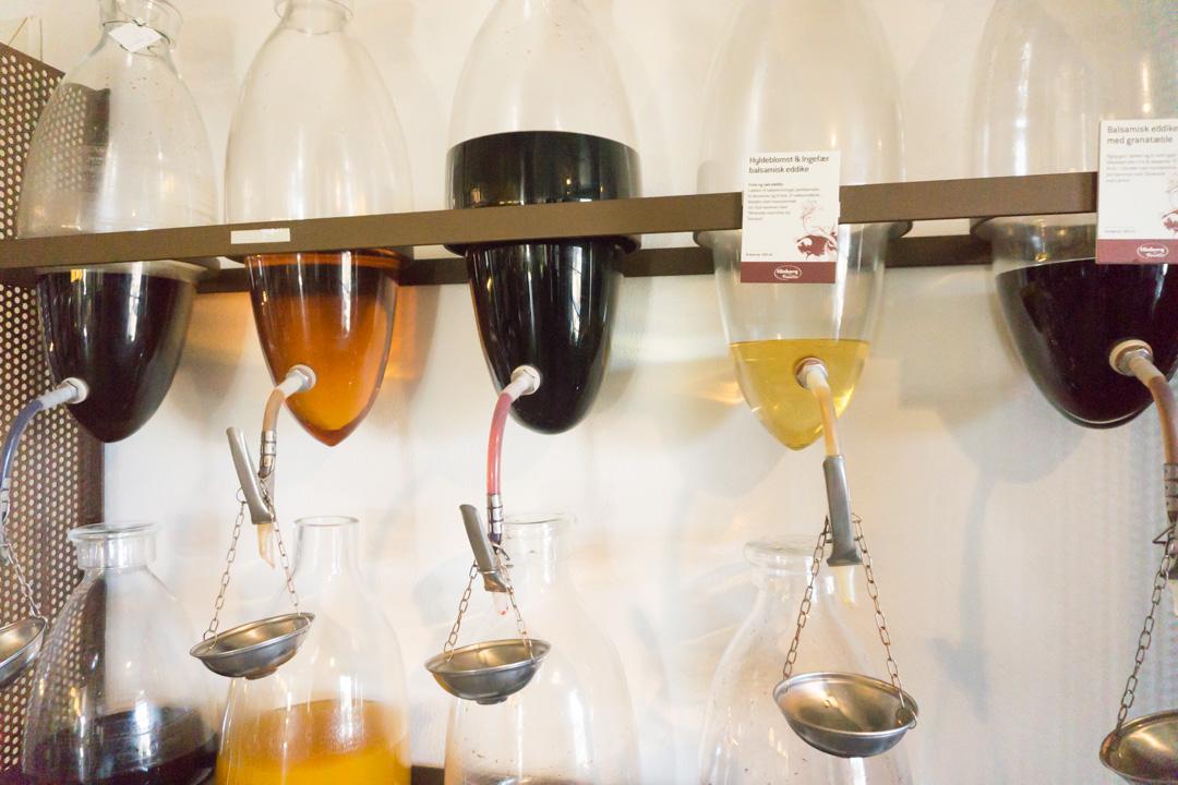 Essig und Öle