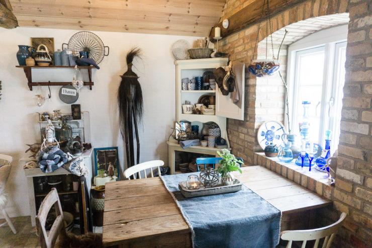 Hattesgaard - Deko und Essen