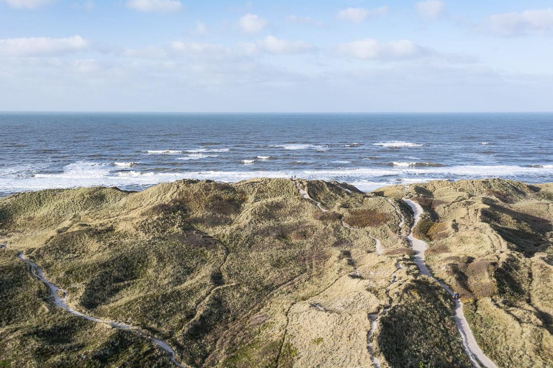Blick Richtung Nordsee vom Nr. Lyngvig Fyr
