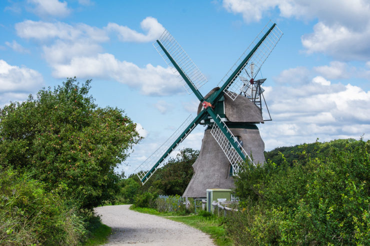 Mühle Charlotte in der Geltinger Birk