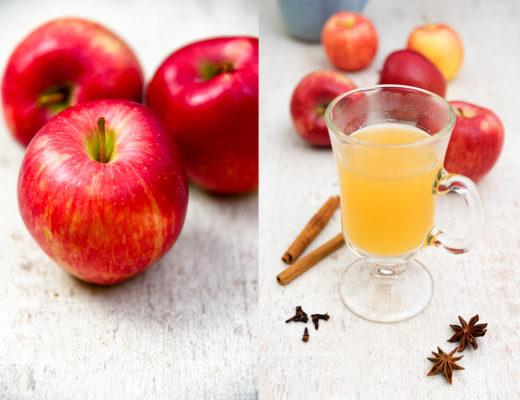 Herbstlicher Apfelpunsch