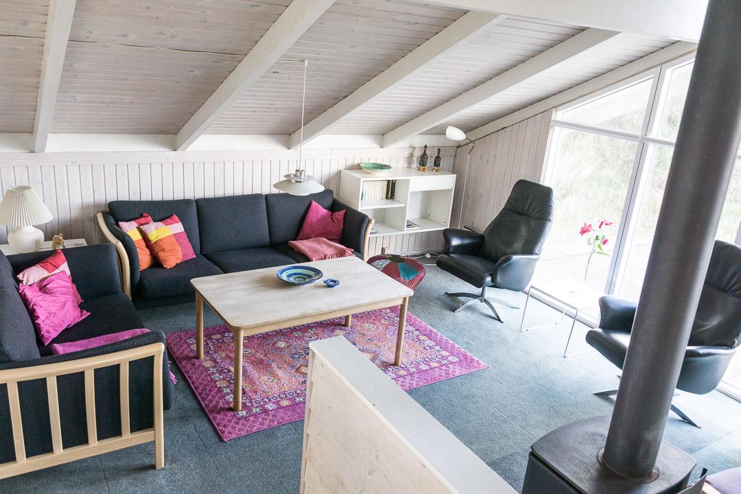 Ferienhaus Doblervej 35 - Wohnzimmer
