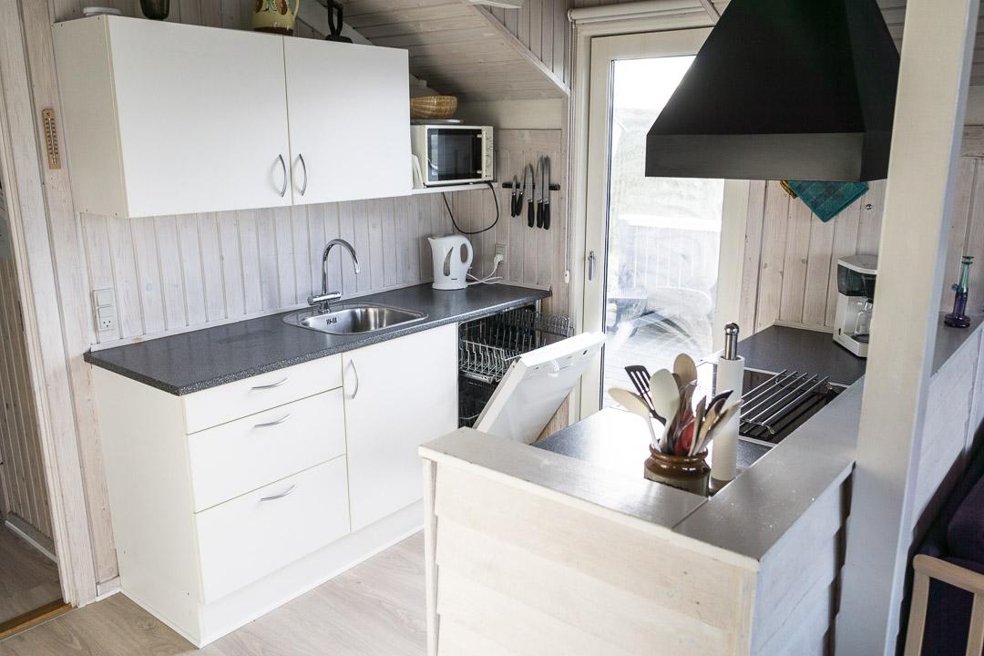 Ferienhaus Doblervej 35 - Küche