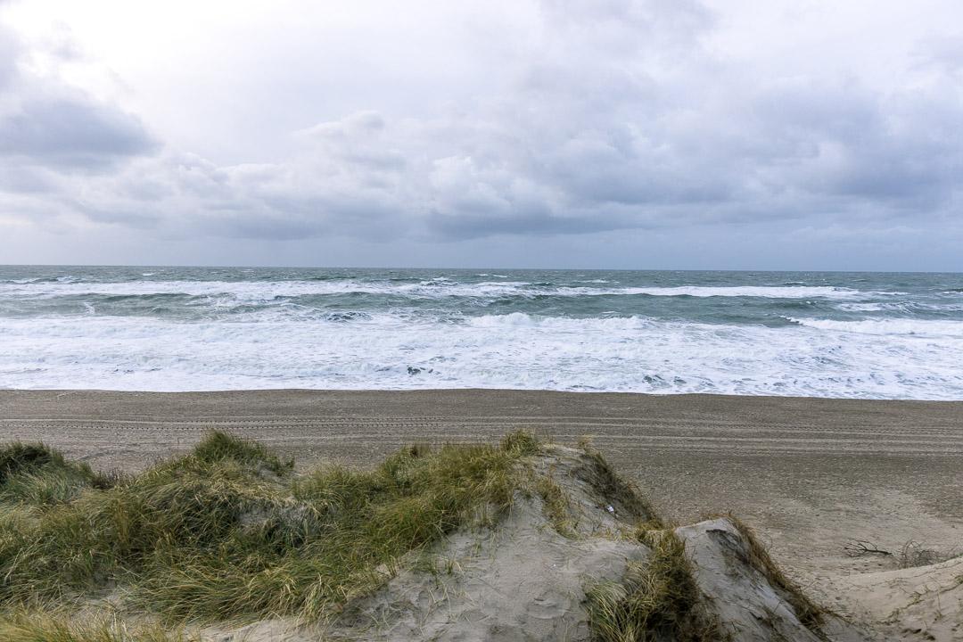 Vejlby Klit Aussicht auf die Nordsee