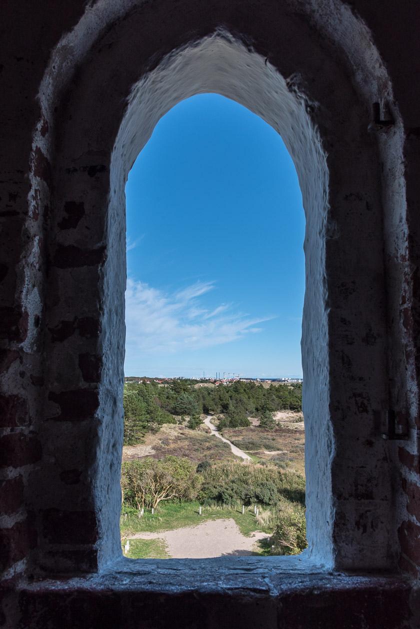 Aussicht vom Kirchturm in Richtung Norden / Skagen
