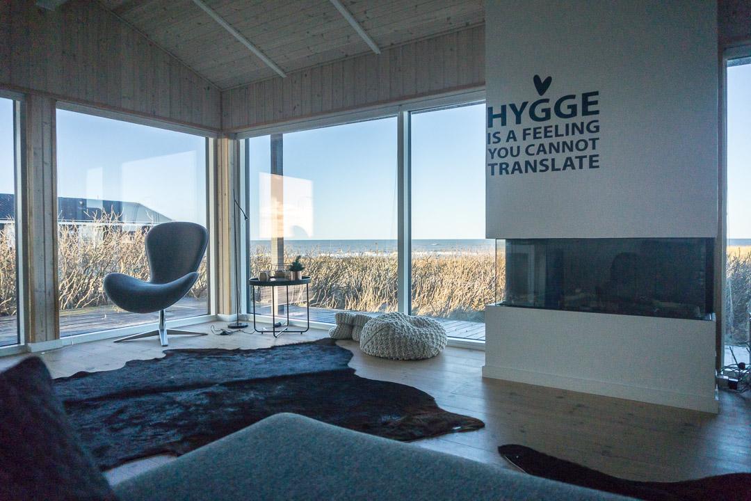Aussicht vom Sofa auf die Nordsee