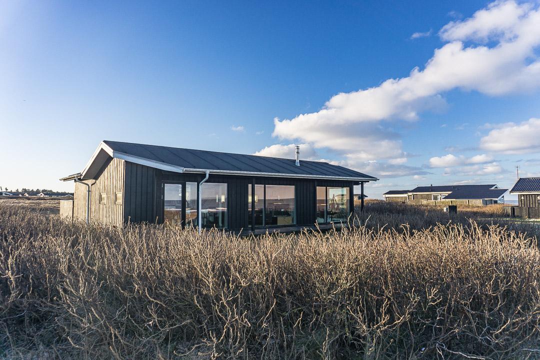 Ferienhaus mit Meerblick in Skallerup Klit / Dänemark