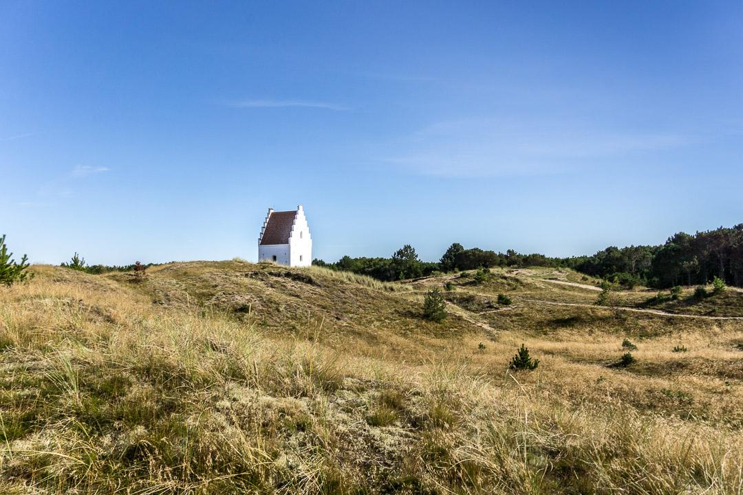 Den tilsandede Kirke i Skagen Klitplantage