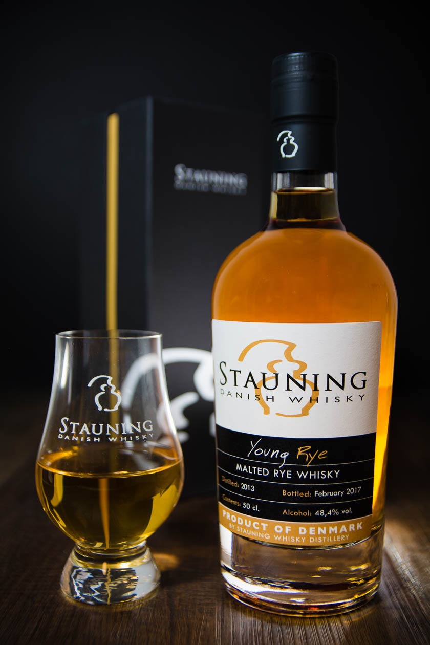 Young Rye Stauning Whisky