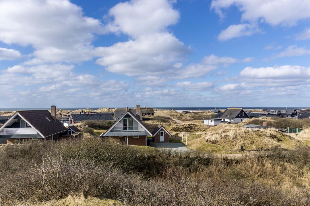 Meerblick vom Ferienhaus auf Fanø