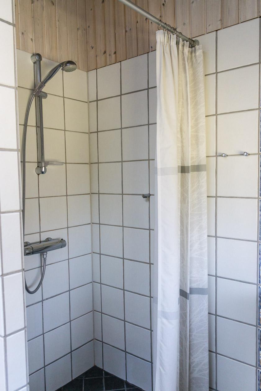 Dusche Ferienhaus Fanø Slunden 9