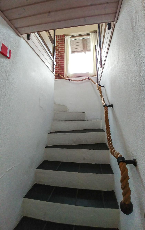 Treppe Ferienhaus Fanø Slunden 9