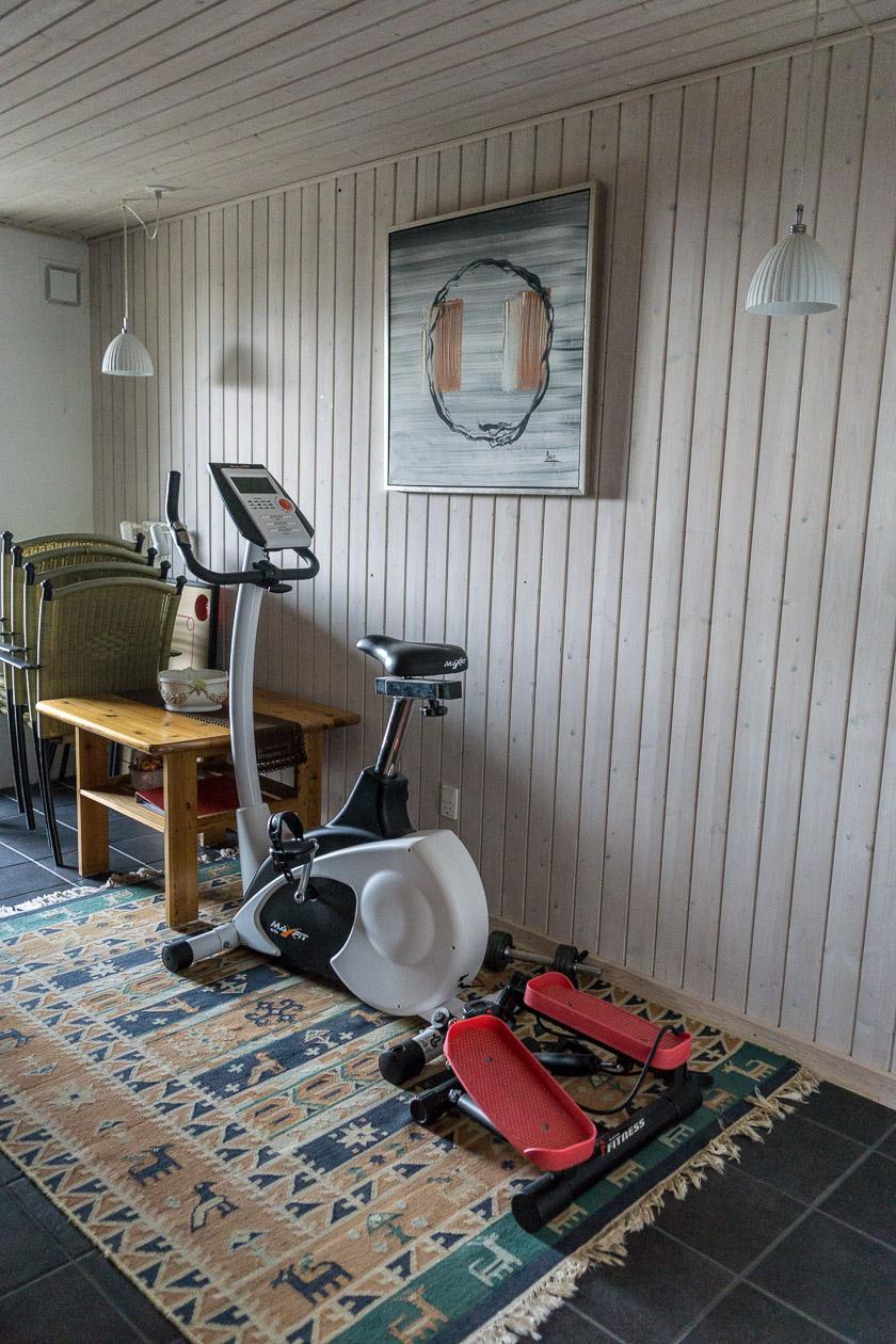 Abstell- und Sportraum Ferienhaus Fanø Slunden 9