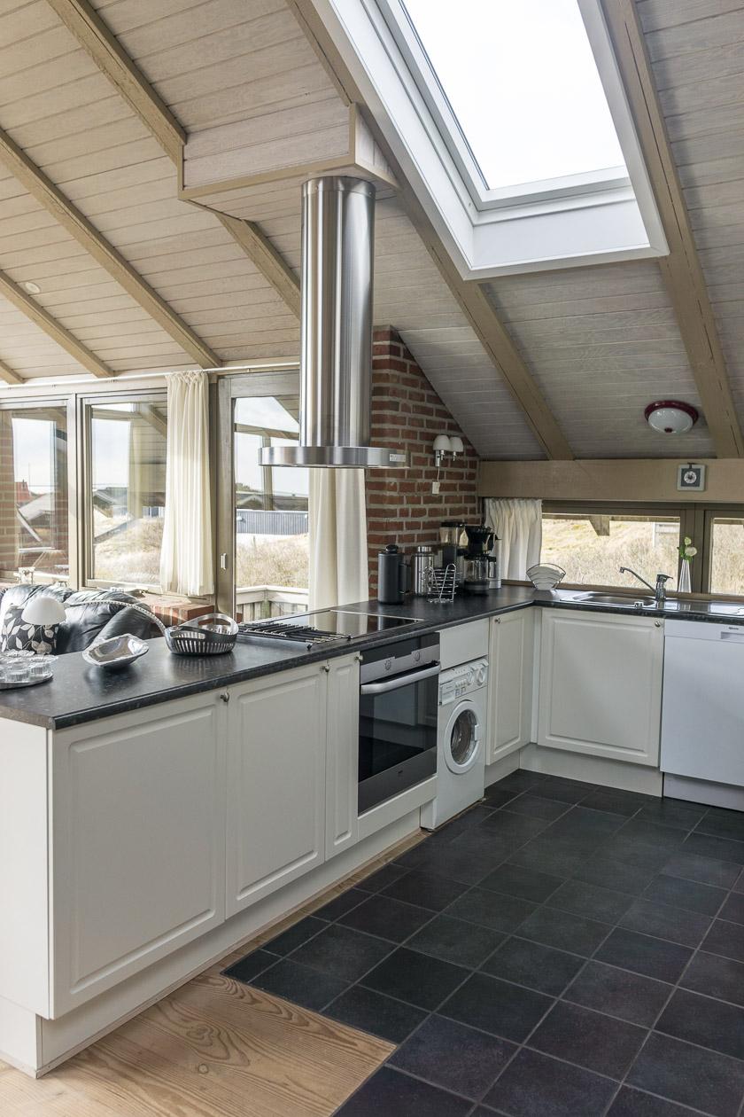 Küche Ferienhaus Fanø Slunden 9