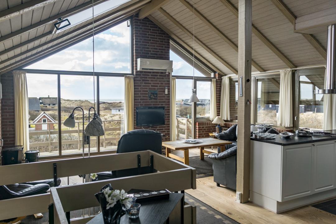 Wohnraum Ferienhaus Fanø Slunden 9