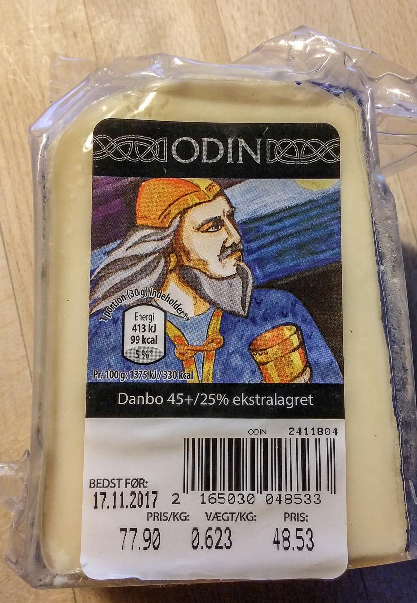 Käse Odin aus Dänemark