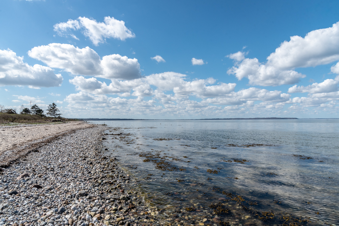April - Fünen, Skåstrup Strand