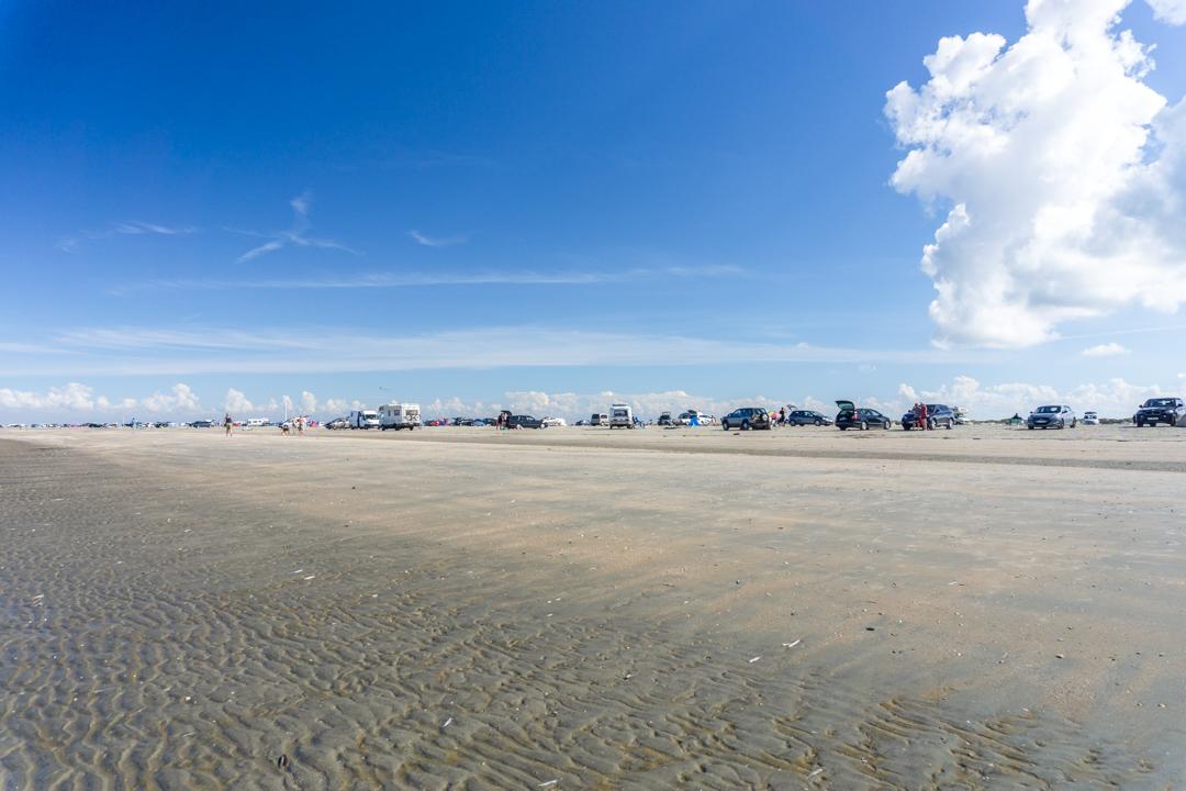 Später Vormittag am Lakolk Strand auf Rømø