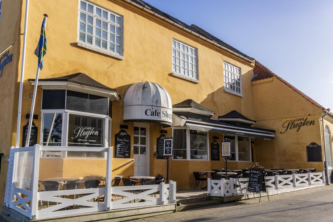 Cafe Slugten in Lønstrup