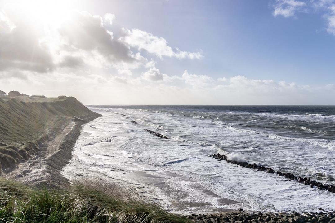 Kein Strand in Lønstrup
