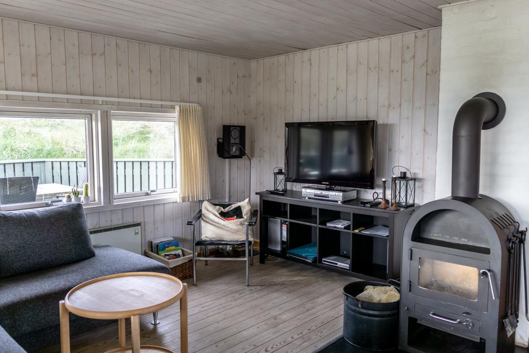 Wohnbereich mit TV, DVD, Radio
