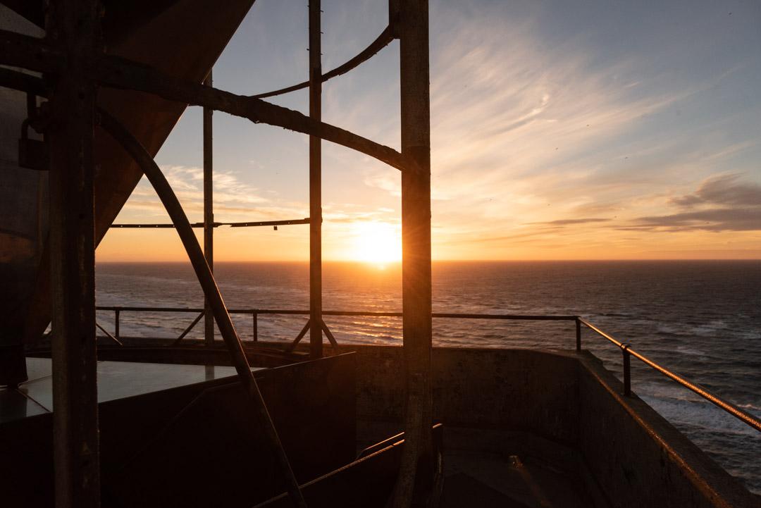 Sonnenuntergang auf dem Leuchtturm Rubjerg Knude