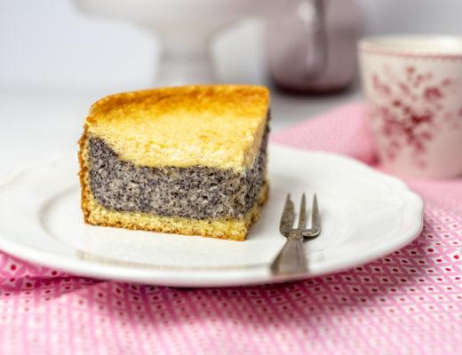 Mohnkuchen mit Schmand