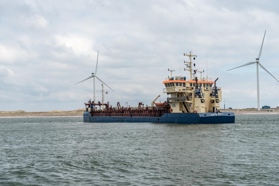 Reger Betrieb auf der Nordsee
