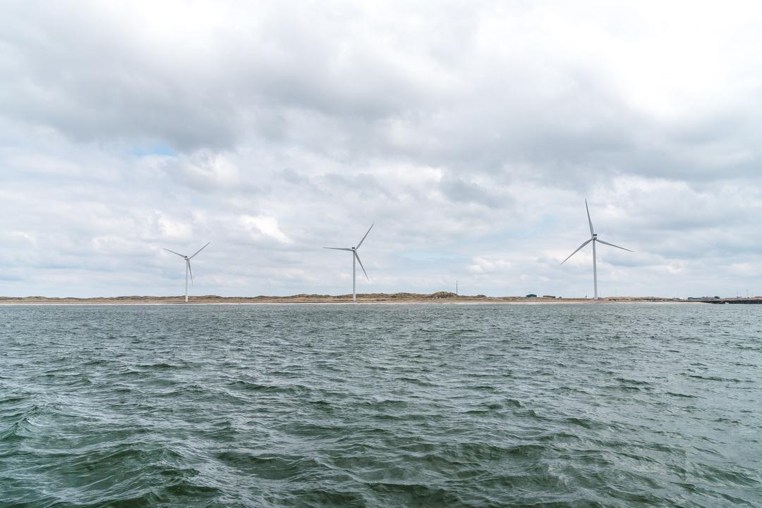 Die Windräder von Hvide Sande