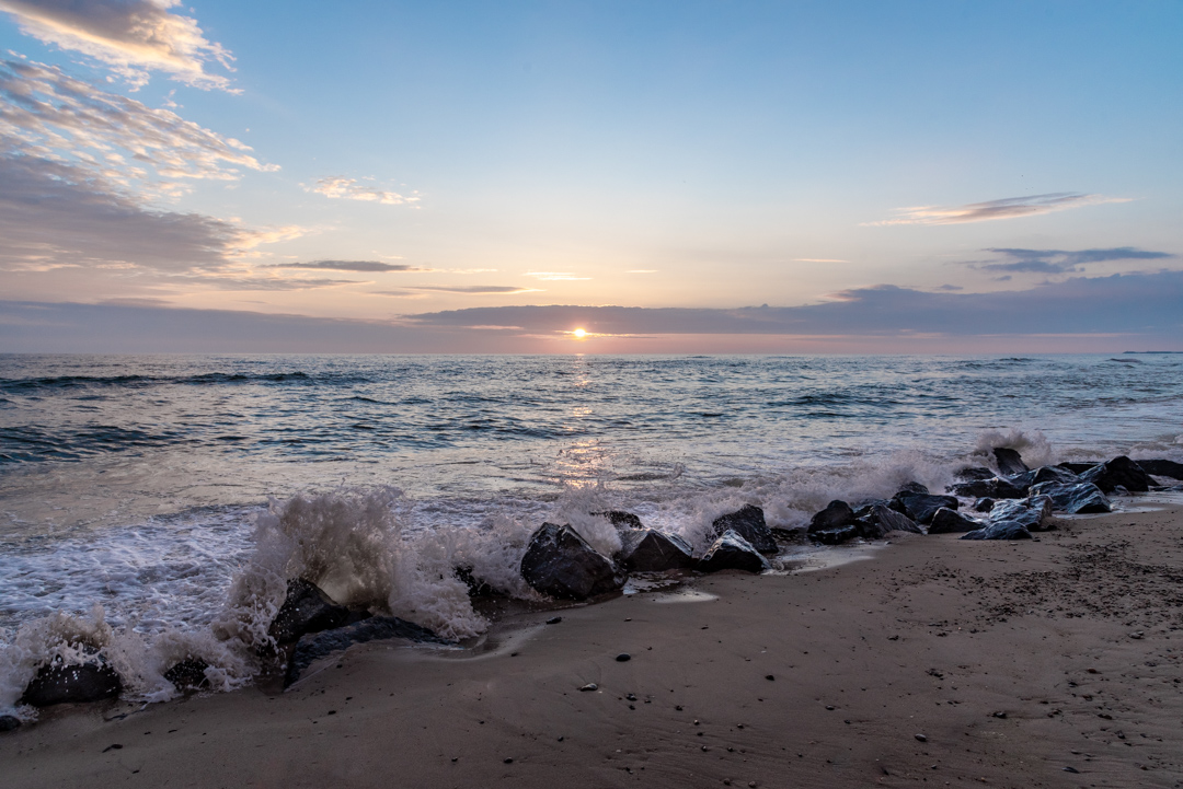 Sonnenuntergang Dänemark Argab