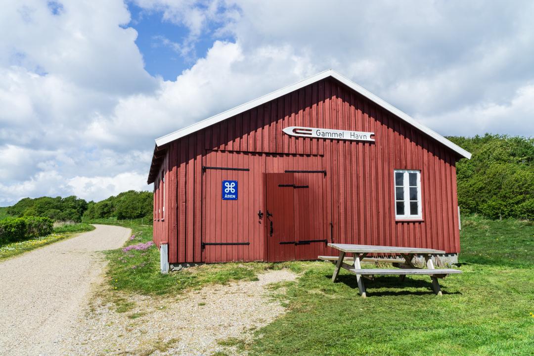 Grundnetzhaus am Gammel Havn