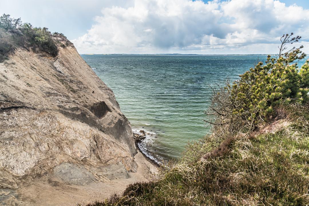 Grandiose Aussicht von der Steilküste auf Fur