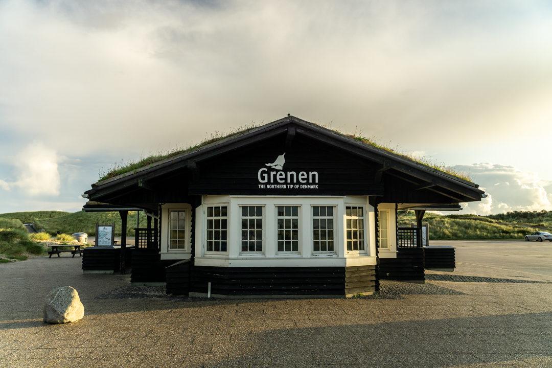 Parkplatz in Grenen. Ab 1. September könnt ihr überall in Skagen kostenlos parken.