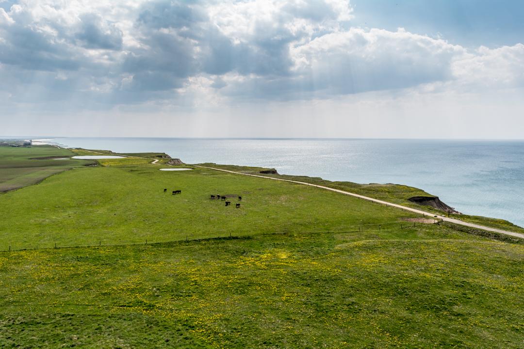 Blick vom Bovbjerg Fyr auf die Nordsee
