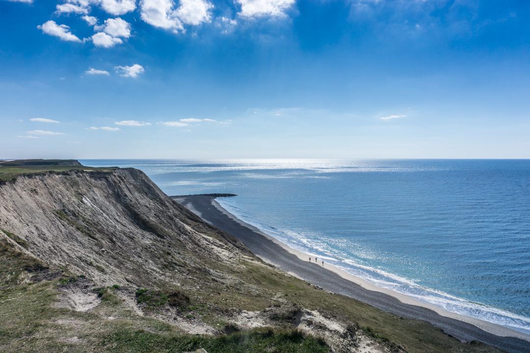 Steilküste Bovbjerg Fyr - Aussicht über die Nordsee